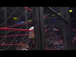 Eric Young vs. Bobby Lashley vs. Austin Aries, for TNA World Heavyweight title