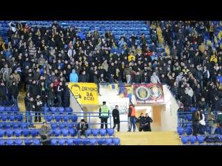 Харьковские Ультрас Стадион Металист кричат люди из Харькова Путин Пидарас