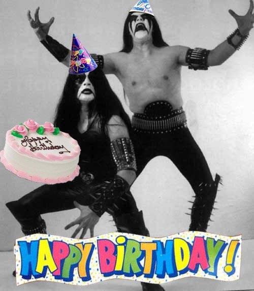 Поздравление для металлиста с днем рождения