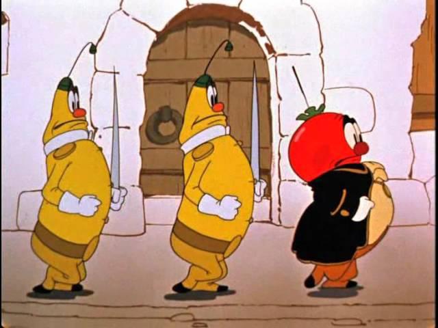 Чиполлино мультфильм 1961г.