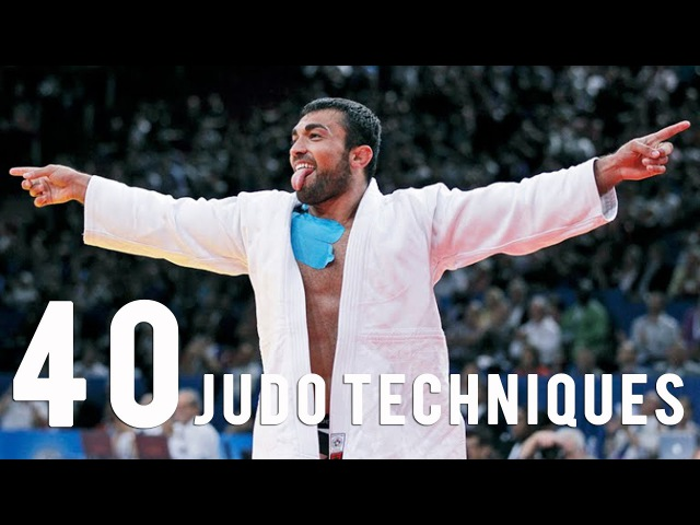 40 Judo Techniques in 5 mn with the Superstars