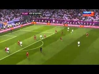 Germany vs Portugal 10 Mario Gomez 72 Euro 2012 HD