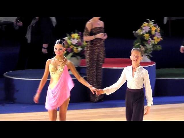 Артём Яровой и Мария Облакова - Самба (Танцфорум 2012, финал)
