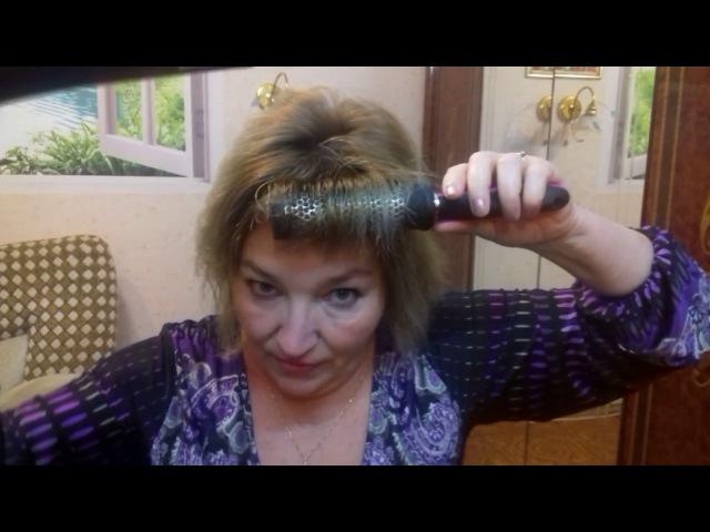 Как сделать объёмную и пышную укладку волос самой дома Легко How to make a beautiful hairdo