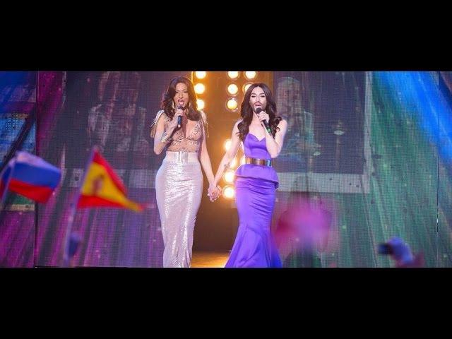 Conchita Wurst Rise Like a Phoenix Waterloo Feat Dana International Eurovision 2015