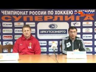 Пресс-конференция М. Юрьева и Н. Кадакина