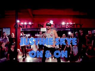 Justine Skye - On & On | Hamilton Evans Choreography