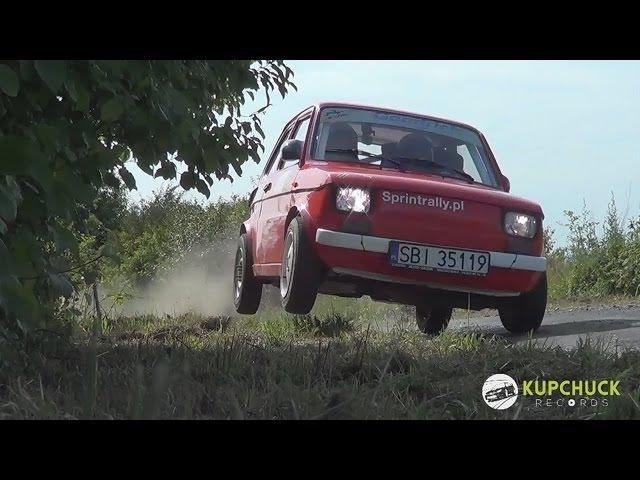 Szalony kierowca malucha. Piotr Filapek - Fiat 126p Flat out