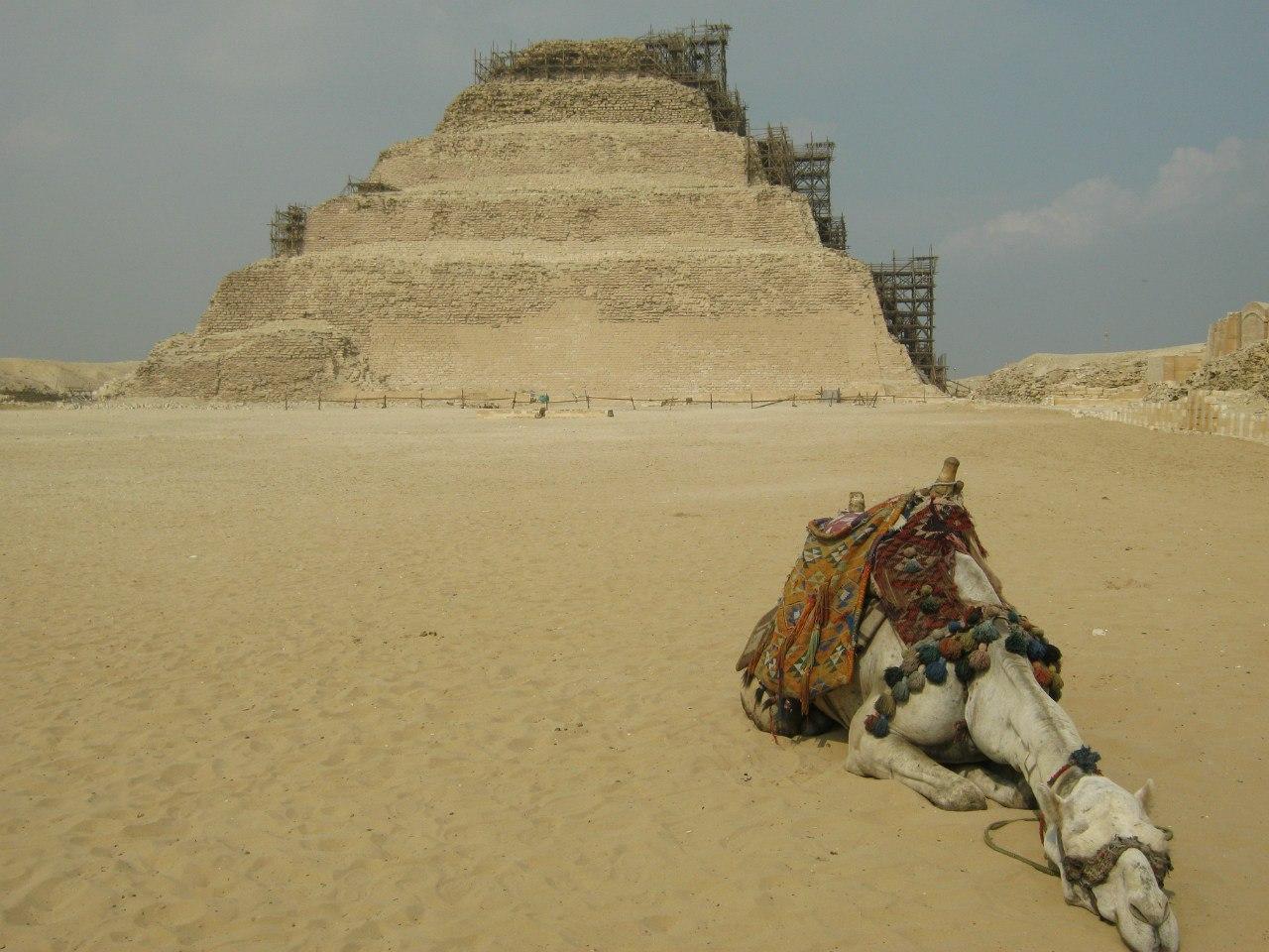 Пирамида Джосера (Djoser) в комплексе Саккара