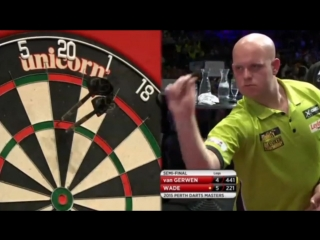 Michael van Gerwen vs James Wade (Perth Darts Masters 2015 / Semi Final)