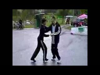 Herrang 2000 Week 3 - Sailor Kick Lindy Hop routine