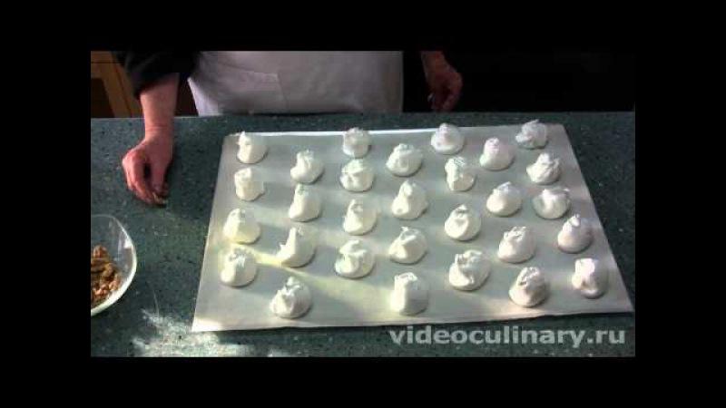 Пирожное безе с кремом - Рецепт Бабушки Эммы