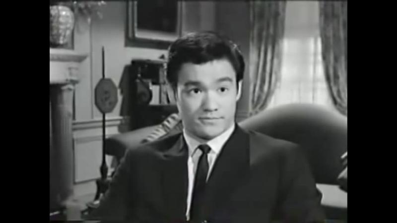 Брюс Ли Телепробы для сериала Зелёный Шершень 1964г