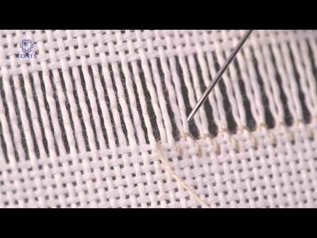 Learn How To Hem Stitch Ladder - 2 threads