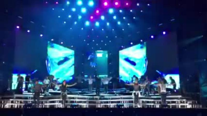 Репетиция Chayanne перед концертом в Junín Аргентина 09 04 15