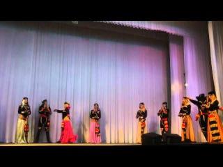 "Огни Кавказа ""Грузинский танец Гандаган"" / Ogni Kavkaza ""Georgian dance Gandagan"""