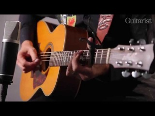Tommy Emmanuel performs Only Elliot and Travelling Clothes and talks Maton EGB808TE acoustic