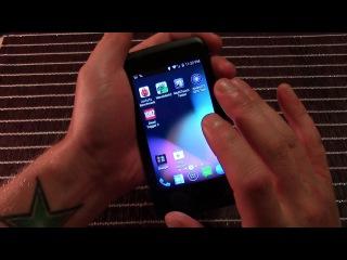 Обзор телефона ZTE OPEN C FireFox OS и прошивка на Android  KitKat