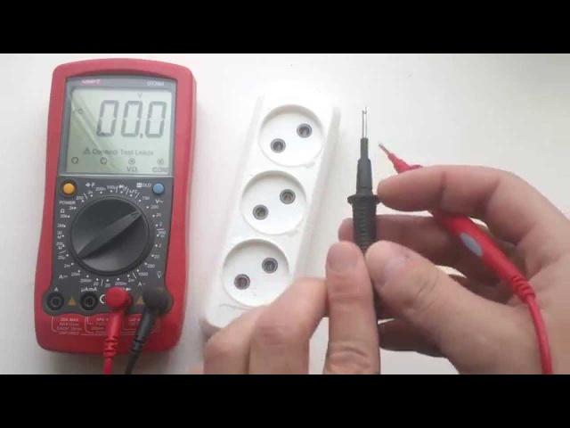 Как пользоваться тестером ( мультиметром)