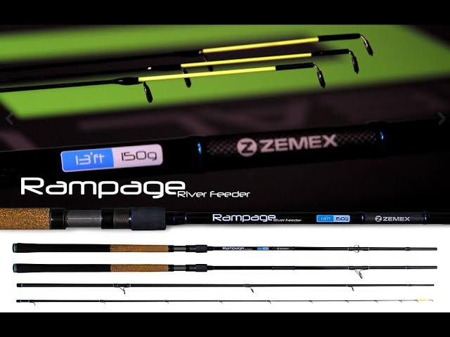 Экспресс обзор 1 Фидер ZEMEX Rampage River Feeder 13ft 150g