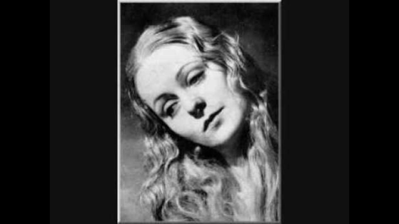 Irène Joachim sings Fauré's Le Secret