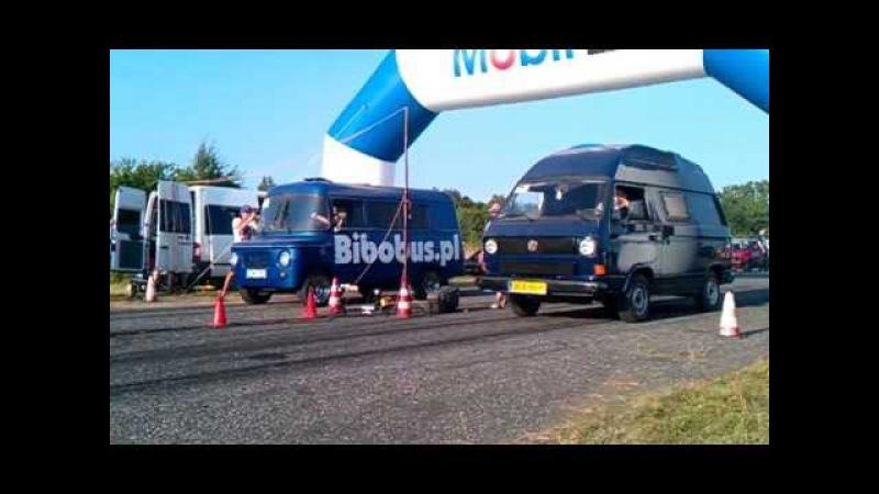VWmania 27 07 2013 Nysa Bibobus vs VW T3
