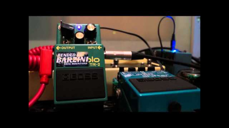 Boss TR-2 Plus bended by BARZINI