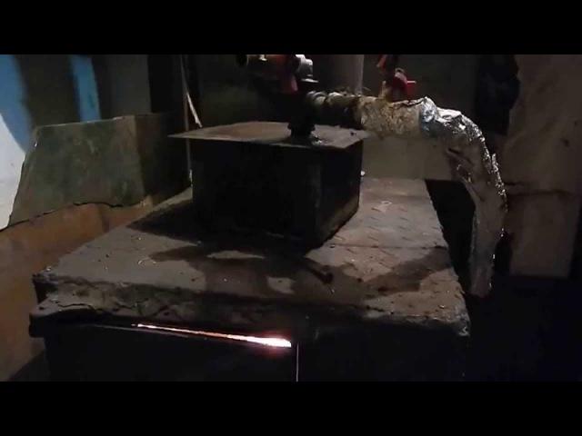 Печь на ВОДЯНОМ газе Дешевое отопление GEET буржуйка