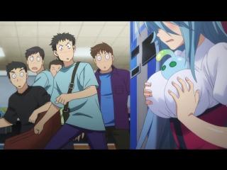 SHIZA Повседневная жизнь с девушкой-монстром / Monster Musume no Iru Nichijou TV - 9 серия MVO 2015