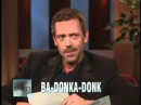 Hugh Laurie vs Ellen DeGeneres - English vs American slang