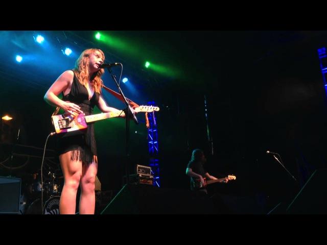 Samantha Fish Oil can guitar @ Bikes Blues BBQ Fayetteville AR 2013