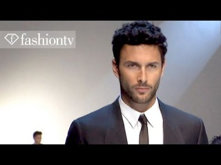 Dolce & Gabbana Full Show ft Noah Mills - Milan Men's Fashion Week Spring 2012 | FashionTV -