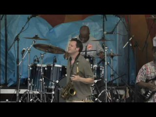 Papa Grows Funk at 2008 New Orleans Jazz & Heritage Festival /