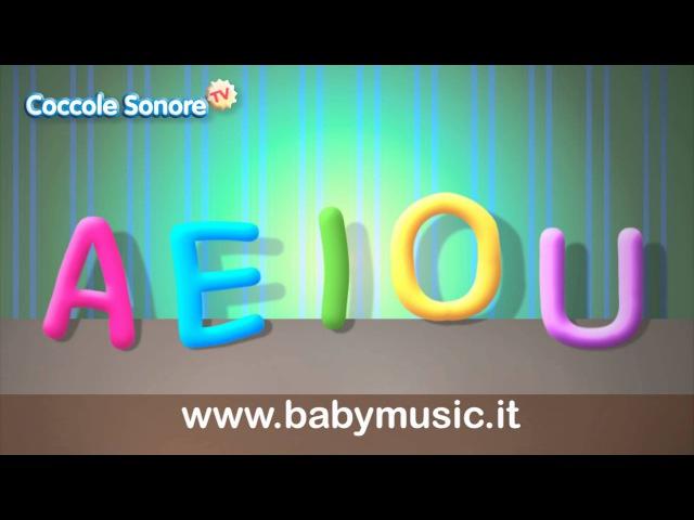 La Canzone delle vocali A E I O U Imparare con Coccole Sonore