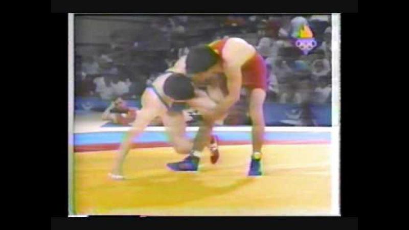 Valentin Jordanov vs Vl. Togouzov Barcelona 92.wmv