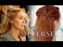 Game of Thrones Hair Tutorial Cersei at Myrcella's Embarkment