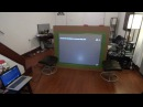 NEW QUANTUM LIGHT FUSION REAR PROJECTOR SCREEN BLACKOUT CLOTH GAMING TEST!