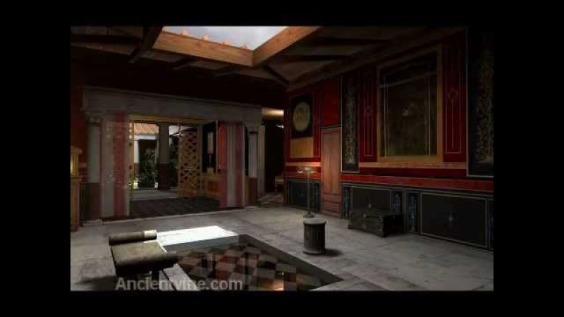 Virtual Roman House History Porn