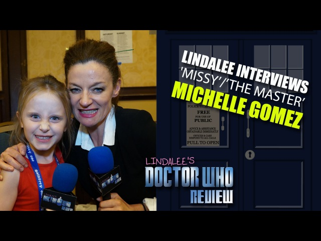 Lindalee Rose interviews Michelle Gomez ('Missy/The Master') Doctor Who