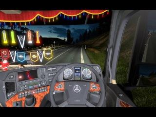 ETS 2 - Euro Truck Simulator 2 [Обычная поездка с братом в записи #11]