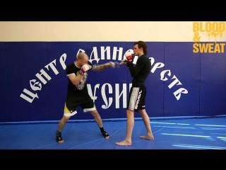 Разбор ударной техники Джуниора Дос Сантос hfp,jh elfhyjq nt[ybrb l;eybjhf ljc cfynjc