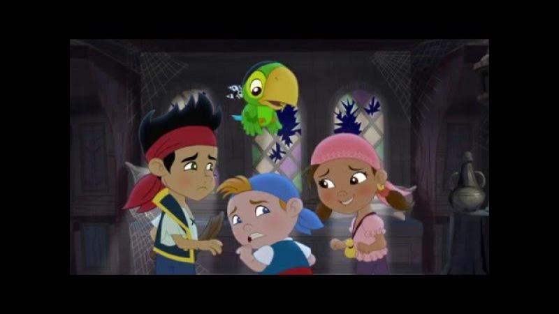 Джейк и пираты Нетландии Пиратская история о призраках Королева Иззи белла Серия 19 Сезон 3
