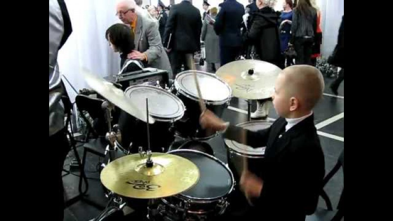 Europe The Final Countdown Drummer Daniel Varfolomeyev 8 year