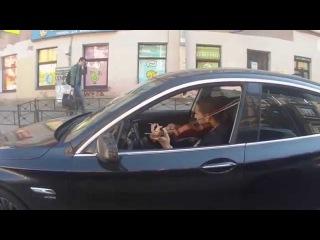 Типичный питерский водитель / Just an ordinary driver in St. Petersburg