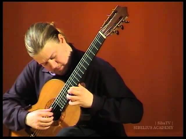 Erik Satie Gnossienne 1 Otto Tolonen guitar
