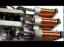 Solenoid engine car 6-cylinder   電磁石エンジン車 6気筒