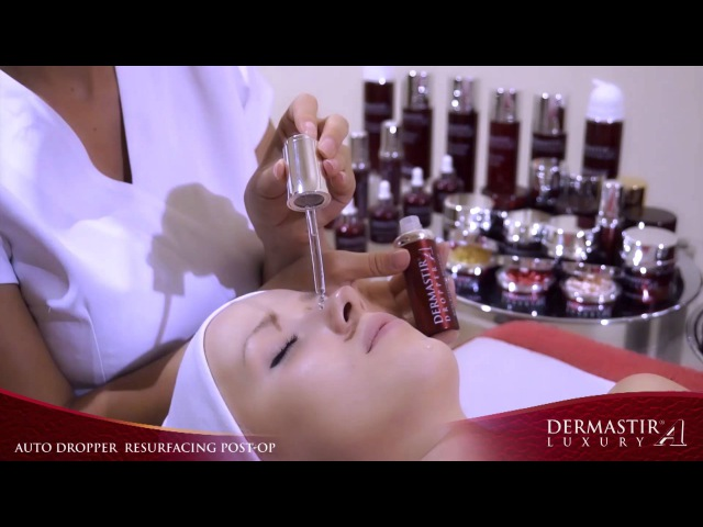 GT007TV Dermastir Auto Dropper Resurfacing Post Op Treatment