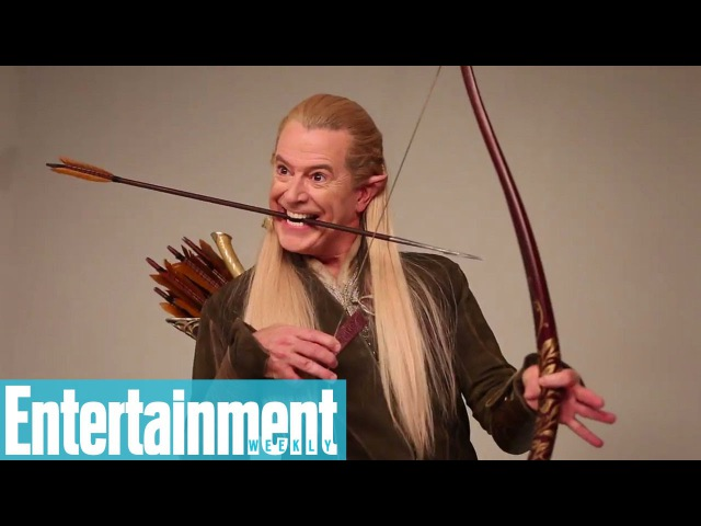 Stephen Colbert transforms into Bilbo Baggins, Legolas, and Gandalf | Entertainment Weekly