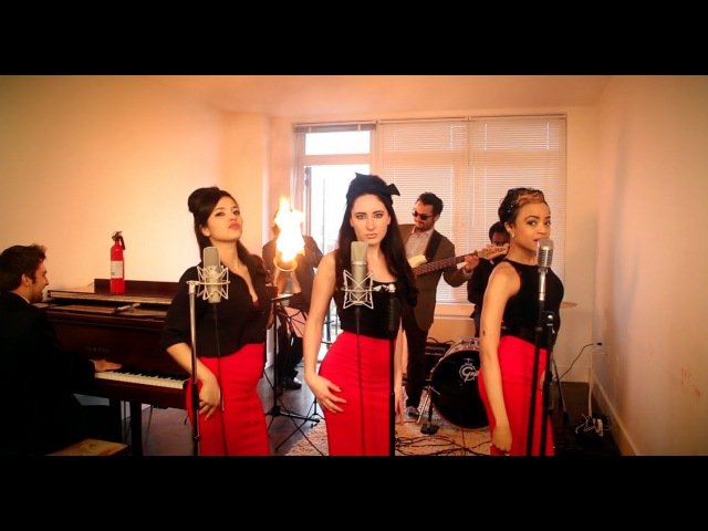 Burn - Vintage 60s Girl Group Ellie Goulding Cover feat. Robyn Adele Anderson