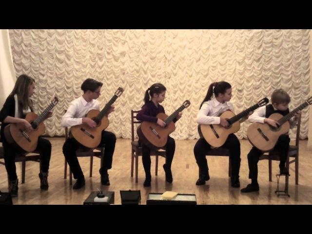 Мелодия из к/ф «Джентльмены Удачи»   Квинтет «Ardor Fuerte»